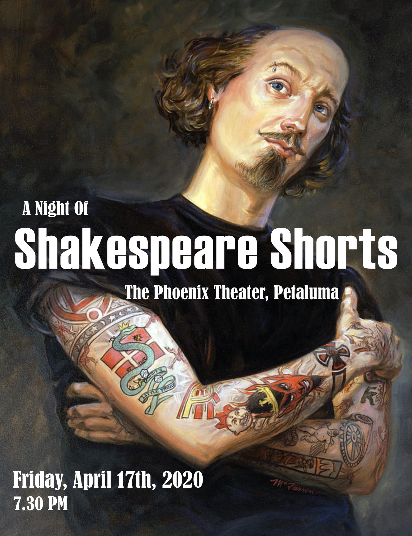 Shakespeare Shorts Petaluma